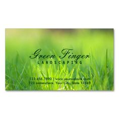Landscaping Business Card | Business cards