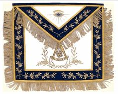 Ornate Past Masters Apron