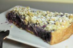 Heidelbeer-Streusel-Kuchen mit Rosmarin