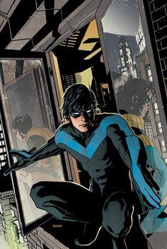 Nightwing #133 cover art by Ryan Sook