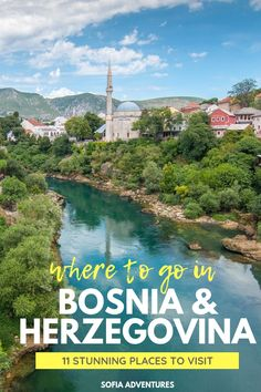 11 Stunning Places to Visit in Bosnia & Herzegovina - Sofia Adventures Europe Travel Guide, Europe Destinations, Travel Packing, Packing Lists, Travel Hacks, Travel Guides, Places To Travel, Places To Visit, Singles Holidays