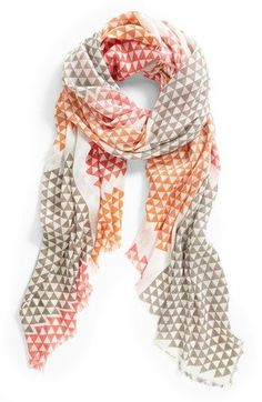 amazing scarf for spring!