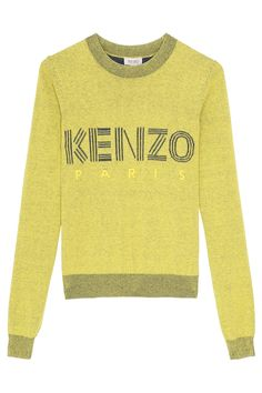 Kenzo Paris Yellow Sweater