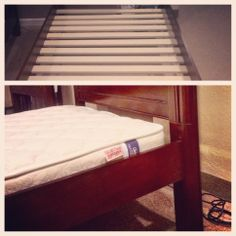 Did you know each of our beds comes with a set of slats so you don't even NEED a box spring if you don't want?  And there are 4 different height settings for mattress + box spring or mattress only!  So many options, so many possibilities!  #boxingday #bed #bedroom #slats  http://www.lightheadedbeds.com/store/