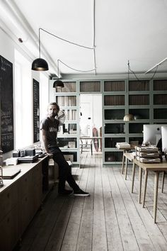 The studio / home of a Danish carpenter and designer
