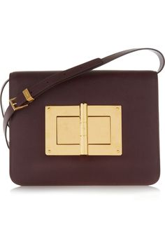 Tom Ford | Natalia large textured-leather shoulder bag | NET-A-PORTER.COM