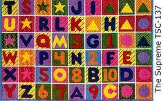 Fun Rugs Numbers & Letters Rug