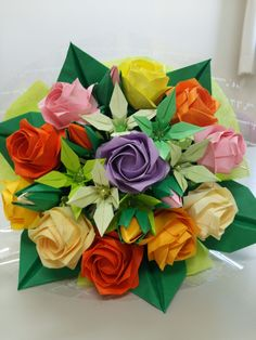 2611 best origami flowers images on pinterest origami flowers origami bouquet origami flowers victorian ladies flower arrangements paper crafts garlands flower paper flower arrangement mightylinksfo