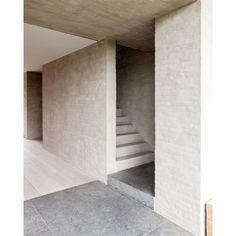 Flemish Rural Architecture - House in Zwevegem by Vincent Van Duysen Minimalist Architecture, Minimalist Interior, Architecture Details, Interior Architecture, Arch Interior, Interior Stairs, Vincent Van Duysen, Brickwork, Modern Design