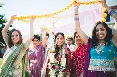 Akriti & Kris' traditional Indian wedding ceremony in Maryland