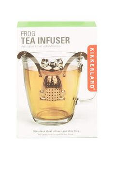 Frog  Tea Infuser - Gifts & Novelty  - Bags & Accessories