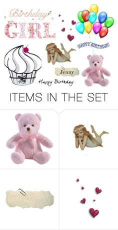 """""""birthday girl"""" by smile2528 ❤ liked on Polyvore featuring art"""