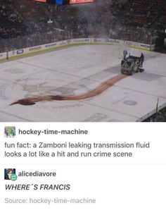 "Your about to be killed.By a zamboni! X,',',D"" fucking love Deadpool! You are in the right place about Nerd Humor science Here we offer you the most beautiful pictures abo Dc Memes, Marvel Memes, Funny Memes, Hilarious, Funny Videos, Funny Tweets, Marvel Dc, Marvel Comics, Marvel Universe"