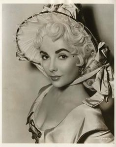 "Elizabeth Taylor in ""Beau Brummell"" (1954)."
