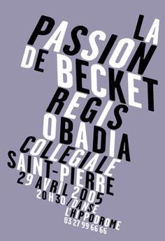 Typography. Catherine Zask