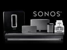 SONOS Wi-Fi wireless sound system