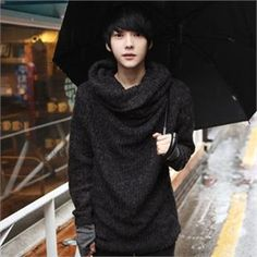 Cheap sweater holder, Buy Quality sweater blouse directly from China sweater razor Suppliers: 2015 Autumn Winter New Style Korean Style Men Sweater turtleneck slim fit casual men's sweater pullover men sweaters New New Mens Fashion, Korean Fashion, Men's Fashion, Fashion Tips, Ulzzang, Pullover Shirt, Pullover Sweaters, Turtleneck Style, Korean Brands