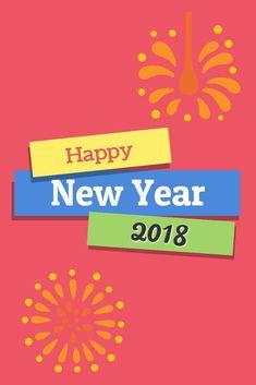 happy new year 2018 greeting