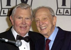 THE ANDY GRIFFITH SHOW (CBS-TV) - Andy Griffith & Don Knotts at TV Land Awards show.