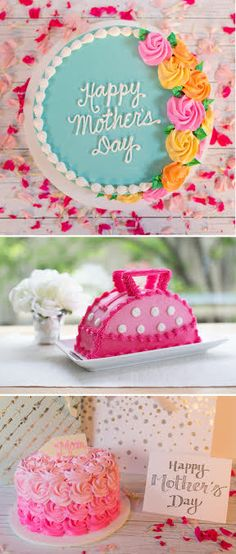 Celebrate your mom's great taste on her special day with a super stylish cake. Order an Elegant Rosette Cake, Pink Rosette Cake or Delectable Designer Bag Cake online and pick it up in 24 hours_just in time for Mother's Day.