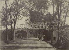 Spoorbrug te Malang 1880-1900.