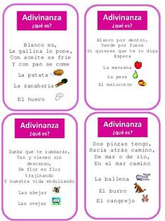Trivial: tarjetas Acertando Dual Language Classroom, Bilingual Classroom, Spanish Classroom, Spanish Language Learning, Teaching Spanish, Teaching Reading, Spanish Notes, Spanish Lessons, Speech Language Therapy