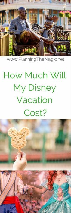 How Much Does A Disney Vacation Cost? A good question indeed.  If you are wondering this then you are probably considering a Disney vacation, or you're in the beginning stages of planning.  I promise you can make a Disney vacation happen within budget and it would be my pleasure to help you get there.  I had a lot of fun making this video for you all so if you want to skip how tedious the above steps can be head over to the post for a watch.  For more information visit…