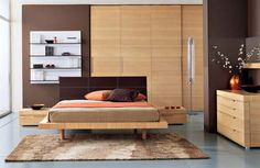 Modern Wall Mounted Bedroom Storage Placement System