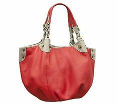orYANY Jesse Soft Pebbled Leather Shoulder Bag