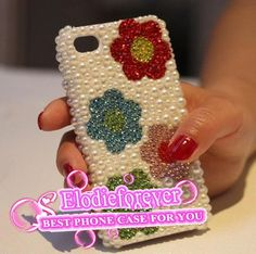 Cute Iphone caseFlower iPhone 4 case Flowers by Elodieforever, $19.99