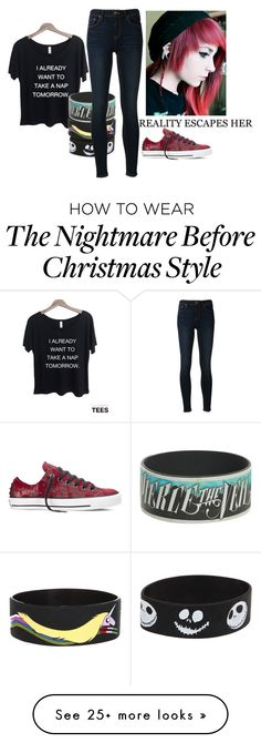 """Untitled #158"" by dreamscapestargaze on Polyvore featuring Disney, Ström and Converse"