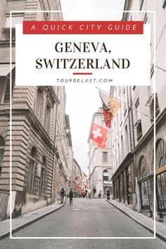 Switzerland is known for having the best fondue and chocolate. Here's a quick city guide to Geneva, Switzerland for your next vacation!
