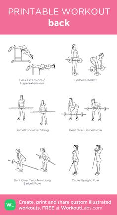 back : my visual workout created at WorkoutLabs.com • Click through to customize and download as a FREE PDF! #customworkout