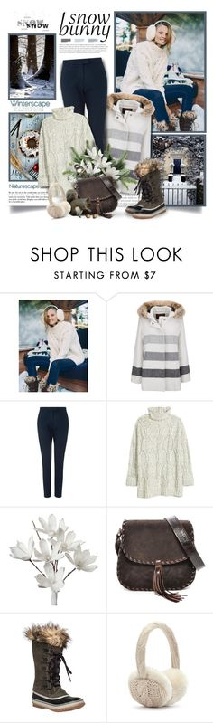 """""""Winter Fun: Snow Bunny Style"""" by thewondersoffashion ❤ liked on Polyvore featuring Free People, Prada, Woolrich, Jigsaw, Carla Mancini and SOREL"""