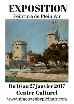 Poster - expo – Poster by simon. Plein Air, France, Canvas, Poster, Painting, Design, Art, January 27, Cultural Center