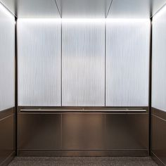 See how our LightPlane Panels w/ edge-lit LED technology can illuminate your project. Shown here in our Levele Elevator Interior w/ ViviGraphix Graphica glass.