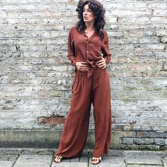 You said cocktails, right? . .  #chocolate #brown #silk #jigsaw #cocktail #pyjamas #pajamas #nightwear #as #daywear #dolceandgabbana #suede #sandals #gold #buckle #luxury #loungewear #sleepover #ready #wiwt #ootd #tfif #love #me #london #today #vsco #friday #70s #style