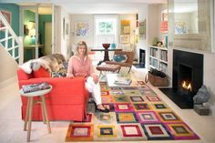 When disaster hit Trisha Younge's home, she was devastated, but she dusted herself off and reinvented her space. It's full of colour, but there's no suede sofa. Edited by Mary O'Sullivan. Photography by Tony Gavin Home, Suede Sofa, Ground Floor, Home And Garden, Sofa, Furniture, Kotatsu Table, Interior, House