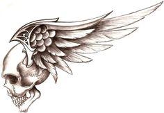 Skull with Wings photo skull_wings_by_50LbHead.jpg