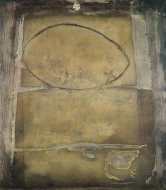 Gran óvalo o pintura,1955. Museo Bellas Artes,Bilbao.