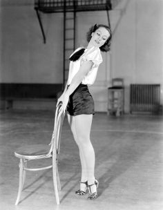 Joan Crawford had the legs of a dancer, 1930s