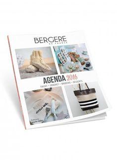 Agenda 2016, Bergère de France Publications, broderie & tricot Achat en ligne