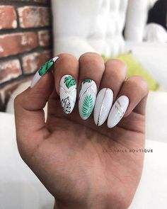 In seek out some nail designs and some ideas for your nails? Here's our listing of must-try coffin acrylic nails for fashionable women. Summer Acrylic Nails, Best Acrylic Nails, White Summer Nails, Spring Nails, Fabulous Nails, Perfect Nails, Perfect Pink, Short Nail Designs, Nail Art Designs