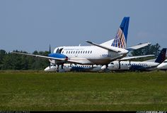Continental Connection (Colgan Air) More: Saab 340B 	 More: Bangor - International (BGR / KBGR) More: USA - Maine, August 22, 2013 Rema...