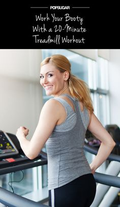 Work Your Booty With a Quick Treadmill Hike-Visit our website at http://www.busybodyfitnesspbg.com for a FREE TRIAL PASS