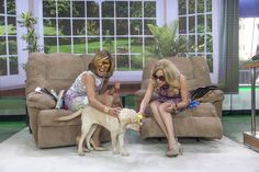 Check out this awesome threesome- KLG, Hoda and.... WRANGLER.