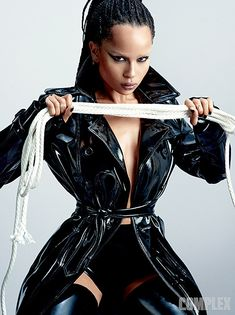 FASHION: 'Bound For Glory' - Zoë Kravitz covers Complex Magazine - AFROPUNK