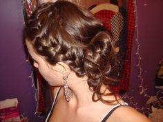 One of my prom hair styles