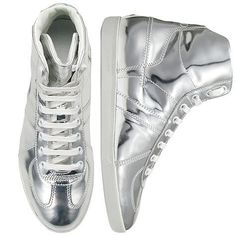 Dior Homme Silver Sneakers