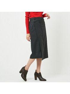骨格診断 ストレートのスカートの選び方 | REAL CLOTHES Real Clothes, Rakuten, Skirts, Pants, Fashion, Trouser Pants, Moda, Fashion Styles, Skirt